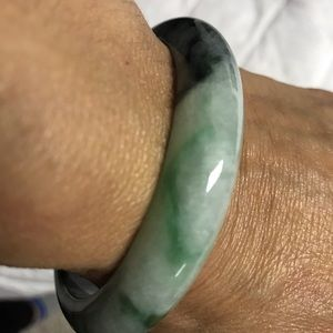 Genuine Jade Bangle Bracelet